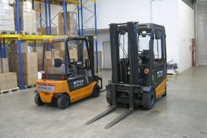 Different Forklifts Used in the Biggest Constructions
